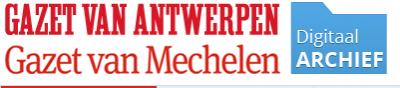 Historisch archief Gazet van Antwerpen / Gazet Van Mechelen